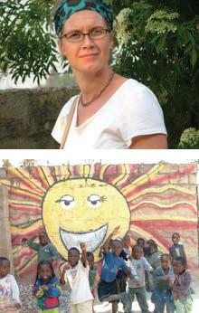 Hillary Gonzales Temwani Volunteer