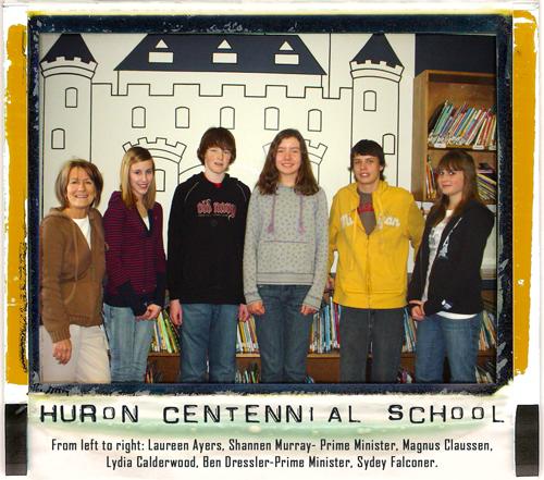 Fundraisers at Huron Centennial Public School - Cananda