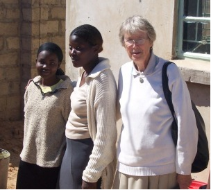 Sister Helen at the School